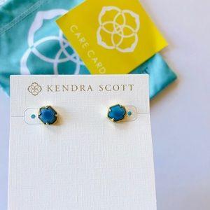 NWT Kendra Scott Logan Stud Earrings